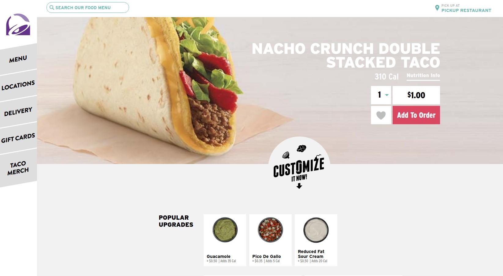 Taco Bell Deals